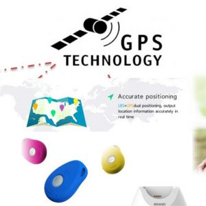 GPS043D - GPS Tracker Pendant / Keychain for Elderly with Dementia