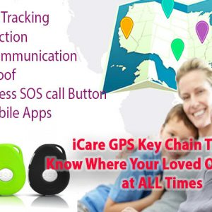 GPS057W – OMG Elderly Health Monitoring GPS Tracker Watch with Blood Pressure / Heart Rate Monitoring, Fall Detection, Medication Reminder
