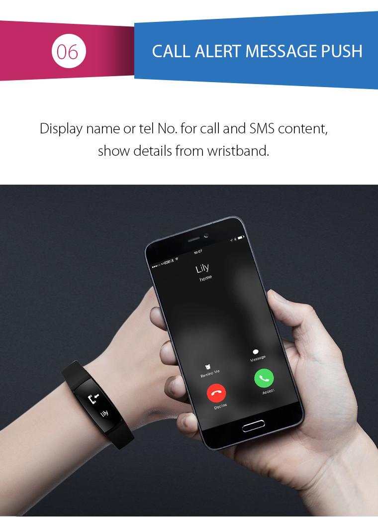 Health Bracelet - 06 Call Alert Message Push