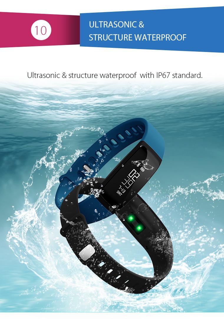 Health Bracelet - 10 Ultrasonic & Structure Waterproof