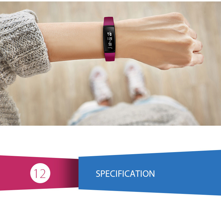 Health Bracelet - 12 Specification