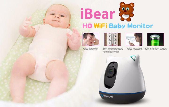 iBear - Baby - Elderly Safety Monitor IP Camera CCTV