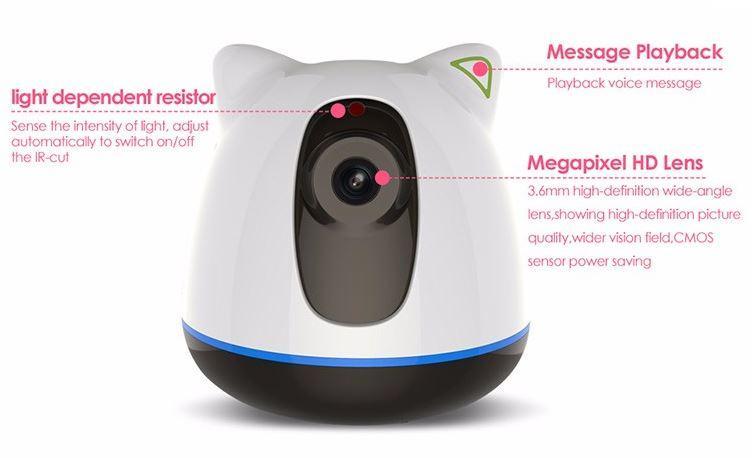 iBear - Baby - Älterer Sicherheitsmonitor IP-Kamera Wifi CCTV - Produkt-Design 01