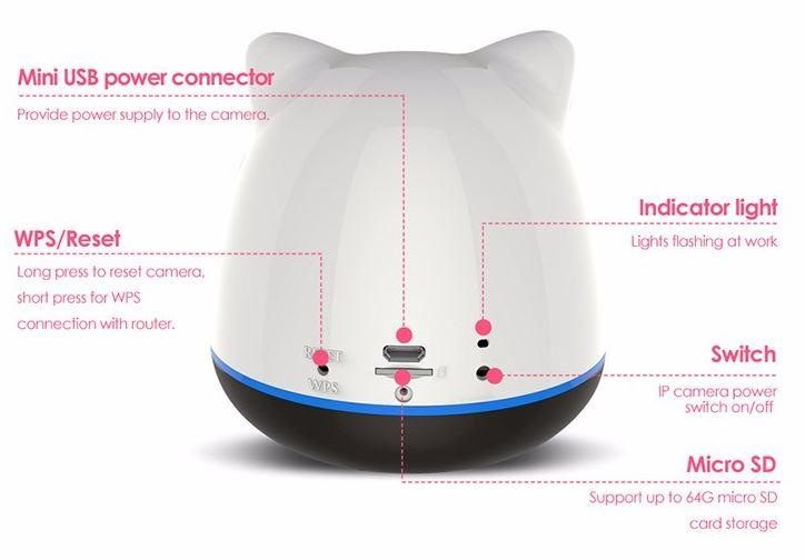 iBear - Baby - Elderly Safety Monitor IP Camera Wifi CCTV - Product Design 02
