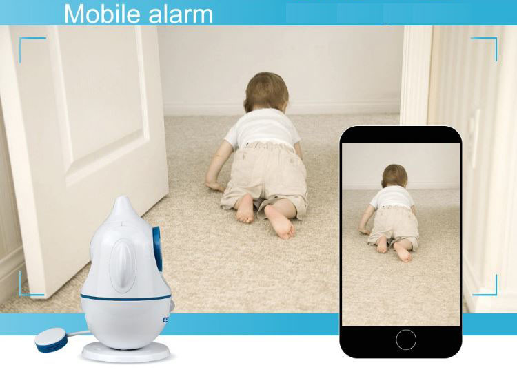 iPenguin - Baby-Elderly Safety Monitor IP Camera CCTV - Mobile Alert