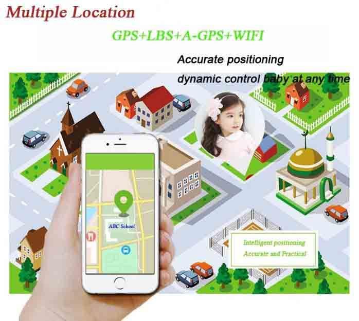 3G Kids GPS Tracker Watch-GPS Locating LR