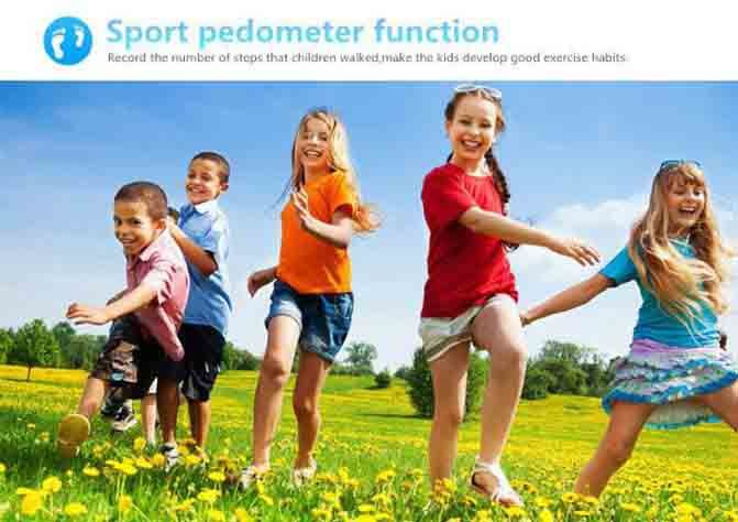 3G Kids GPS Tracker Watch - Sport Pedometer LR