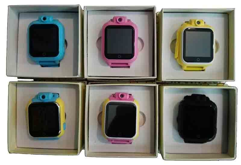 3G Kids GPS Tracker Watch - Colors