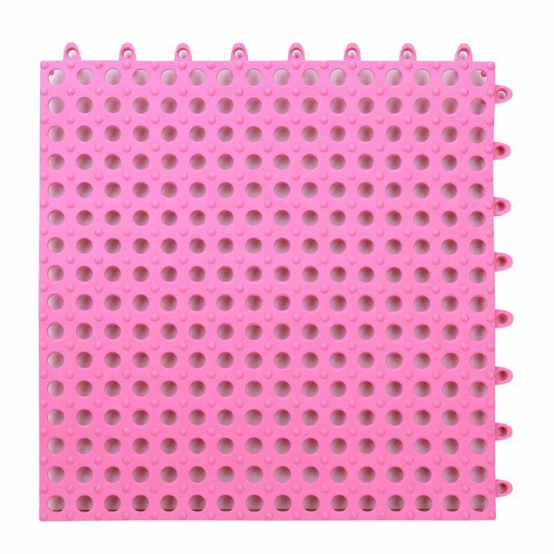 Fall Prevention - Anti Slip Floor Mat - Pink - S
