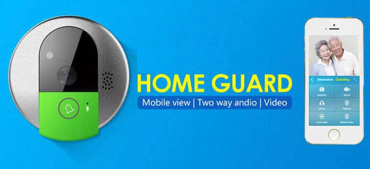 Domov Video kamere Intercom Emergency Call Bell (Wifi)