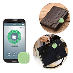 iTrack - Wallet Fitted Pets Elderly Kids Bluetooth Anti Lost Tracker Alarm Alert - Application