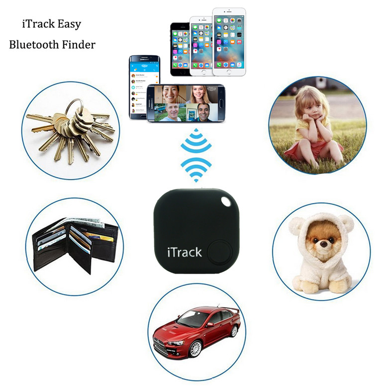 iTrack - Wallet Fitted Pets / Elderly / Kids Bluetooth Anti Lost Tracker Alarm Alert [EA036]