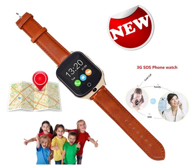 3G GPS Tracker Watch with SOS 2 Way Call for Kids - Children