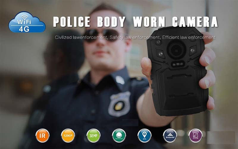 4G Body Worn Camera - Features -S