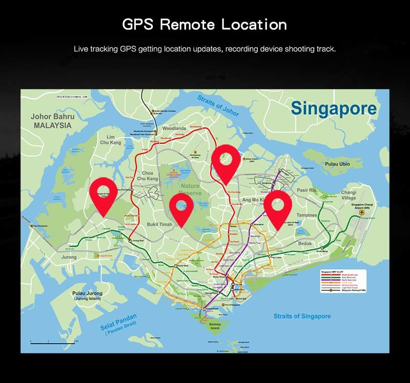 4G Body Worn Camera - GPS Remote Location - S
