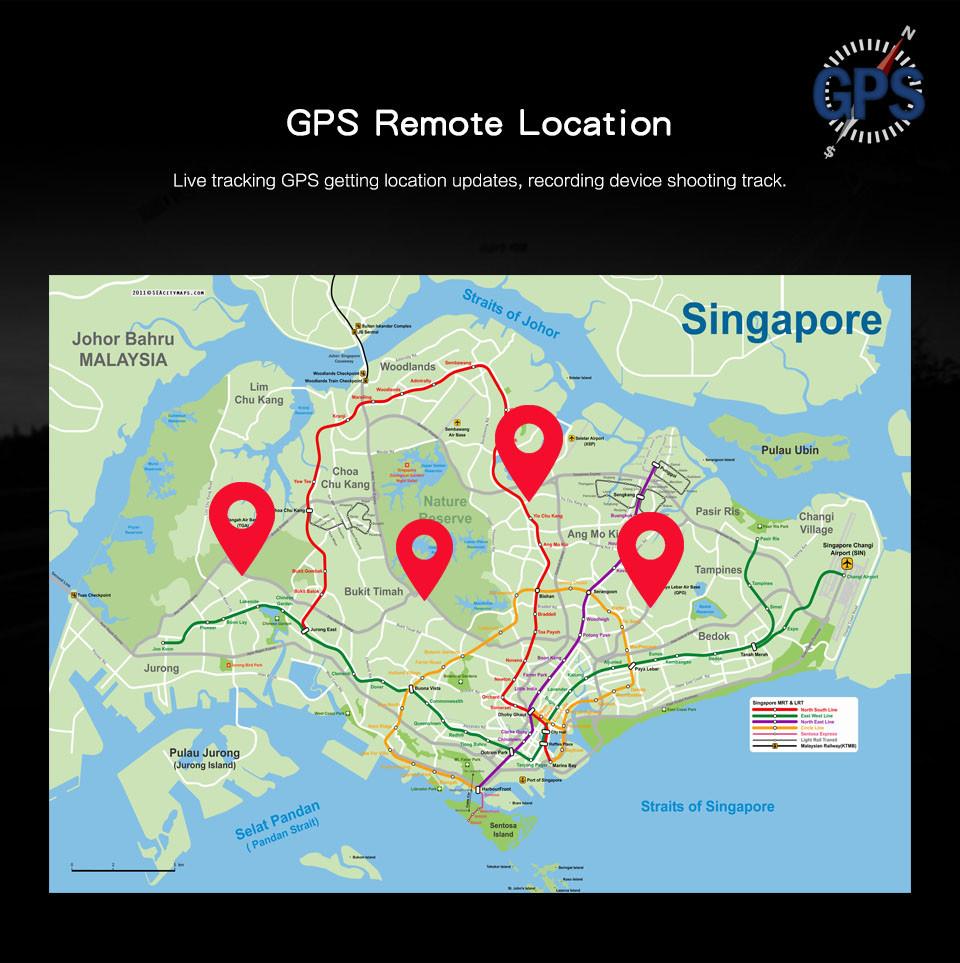 4G Body Worn Camera - GPS Remote Location