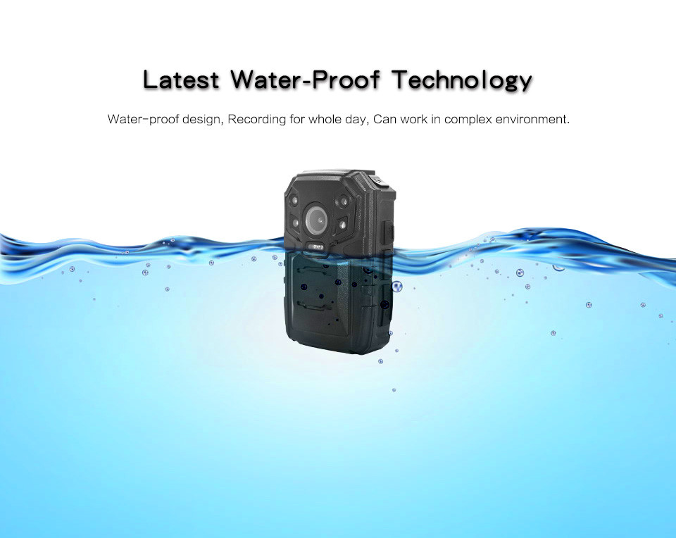 4G Body Worn Camera - Water-Proof