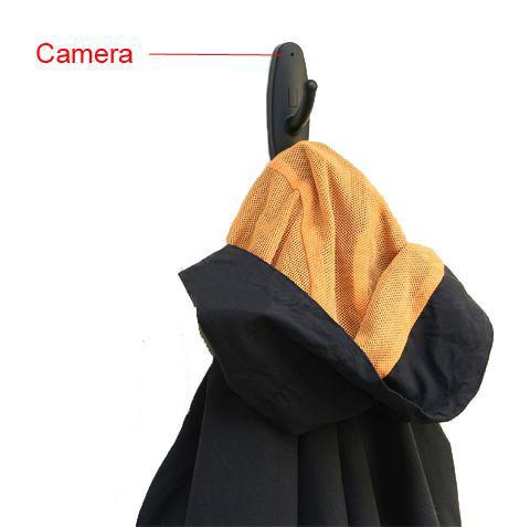 SPY01 - Clothes Hook Spy Camera - Use Case