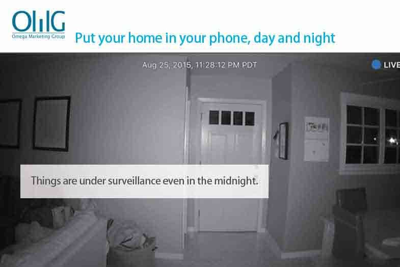 iSpy - 3G IP Cam (support 3G sim card) - Night View