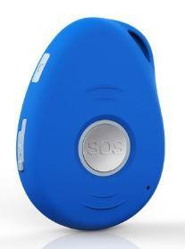 3G GPS Keychain Blue color