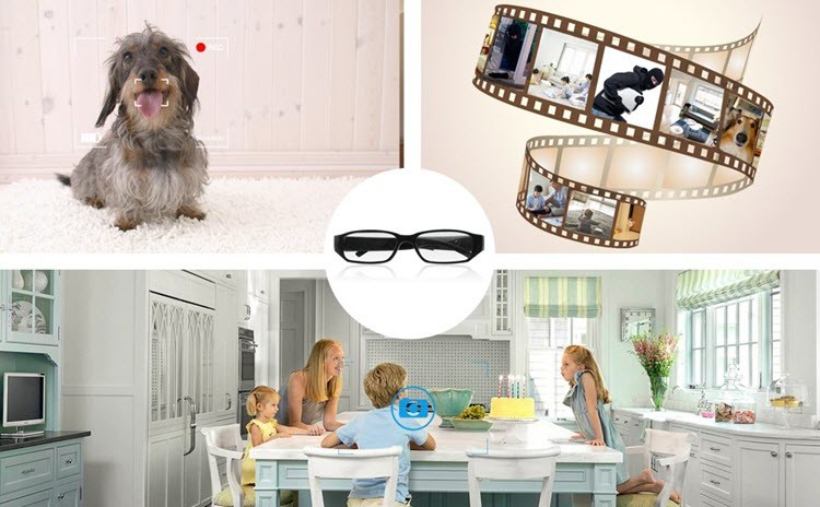 Fashion Spy Camera Eyeglasses (SPY10) - Fun