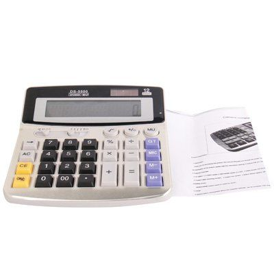 Full sized Solar powered Calculator Spy Camera - 7