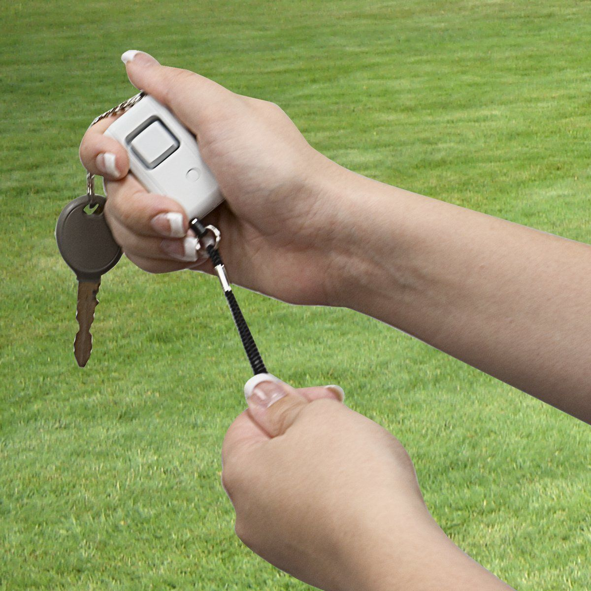 Personal Security Keychain Alarm - Use Case