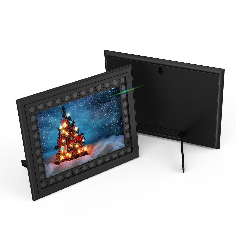 HD 720P Photo Frame Hidden Spy Camera - Front & Back