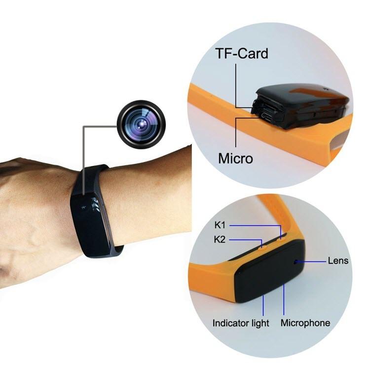 HD1080P Sports Wearable Bracelet Portable Hidden Camera -2