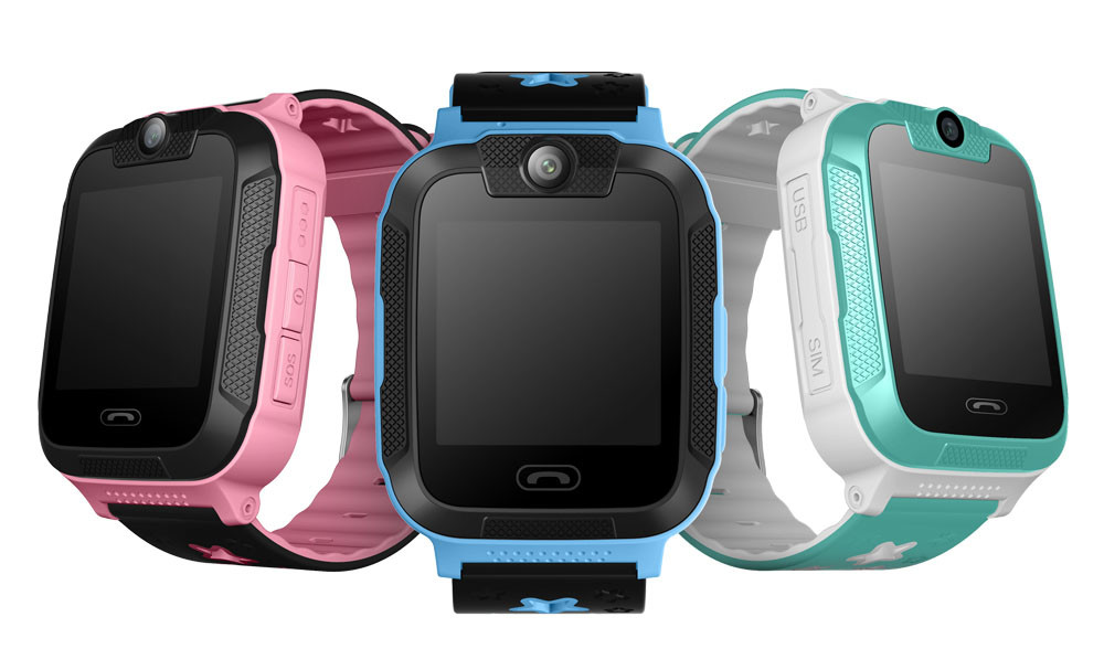 Kids GPS Tracker SOS Phone Watch (GPS21W) - Main