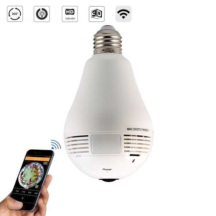 Lamp Hidden Camera - 1