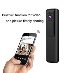 Mini Spy Camera - Hidden Pocket Pen Camera 170 Degree Wide Angle Lens - 2 250px