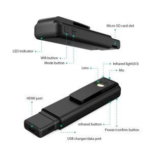 SPY 277 - OMG Pinhole Camera 1080P, 120° Wide-angle Lens
