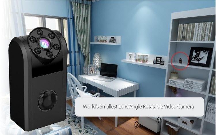 Mini Spy Hidden Camera 720P - 9