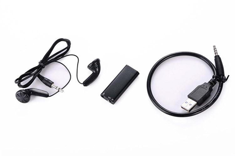 Mini Spy USB Audio Voice Recorder & MP3 Player Flash Drive - 6