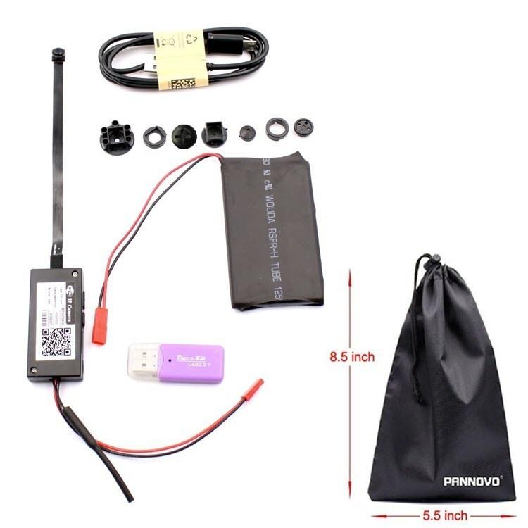 Mini Wireless WIFI Spy Hidden Camera - 7