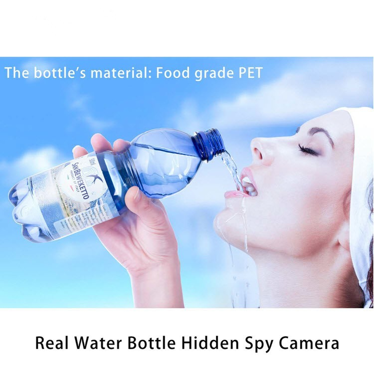 Portable Real Water Bottle Hidden Spy Camera - 3