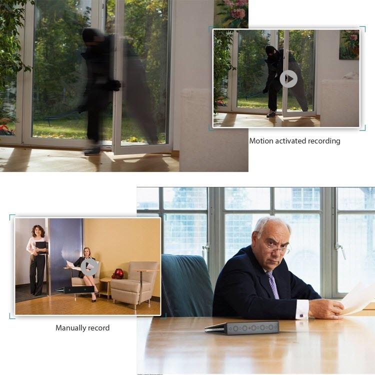 SPY04 - Hidden Spy Book Camera - Application