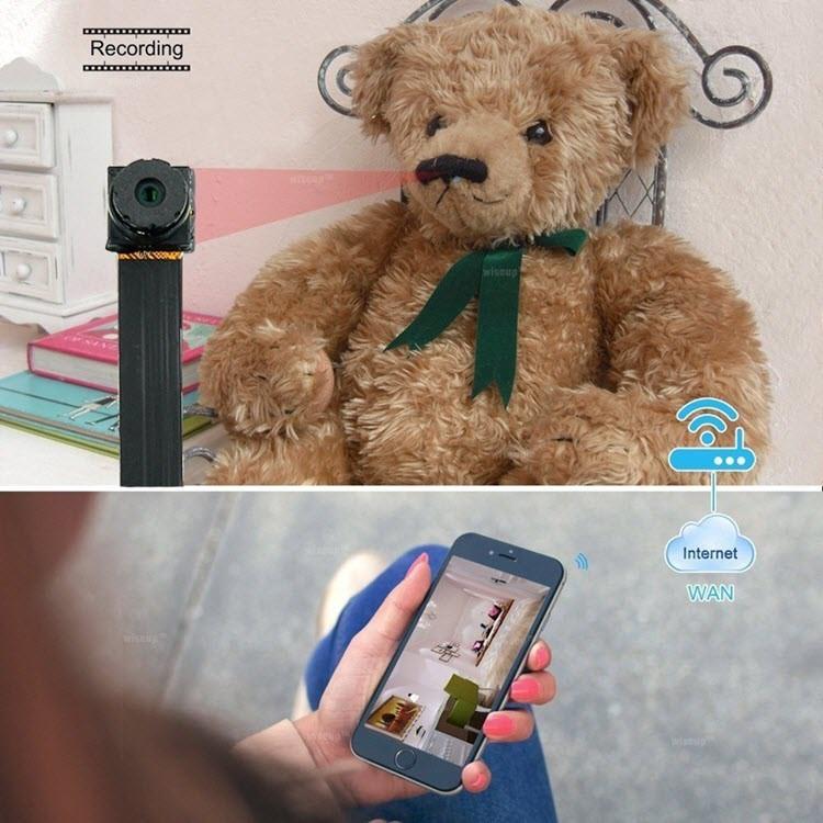 Smallest P2P Wifi Spy Camera DIY Mini Wifi Module Hidden Camera - 6