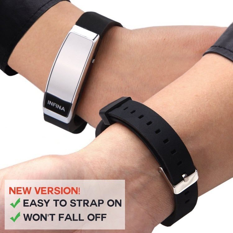 Voice Activated Rechargeable Spy Wristband - 2