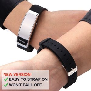 EA046 - Wireless Wristband Nurse Call System (Rechargeable Wireless Call Watch Receiver & Panic Button)
