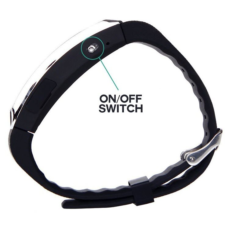 Voice Activated Rechargeable Spy Wristband - 5