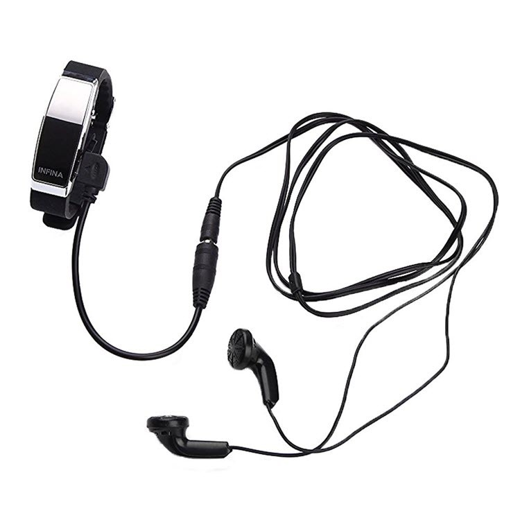 Voice Activated Rechargeable Spy Wristband - 6