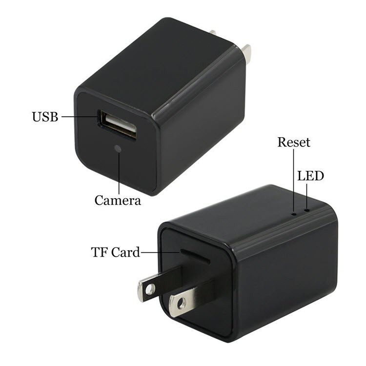 Wifi Spy Hidden Charger Camera USB Wall Charger Adapter - 3