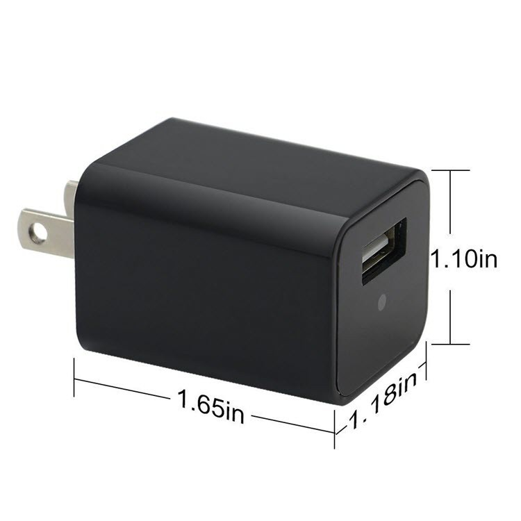 Wifi Spy Hidden Charger Camera USB Wall Charger Adapter - 4