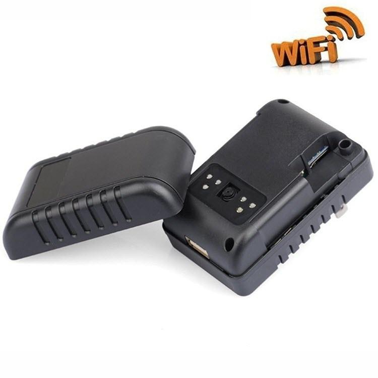 Wifi Spy Hidden Power Adapter USB Wall Charger - 2