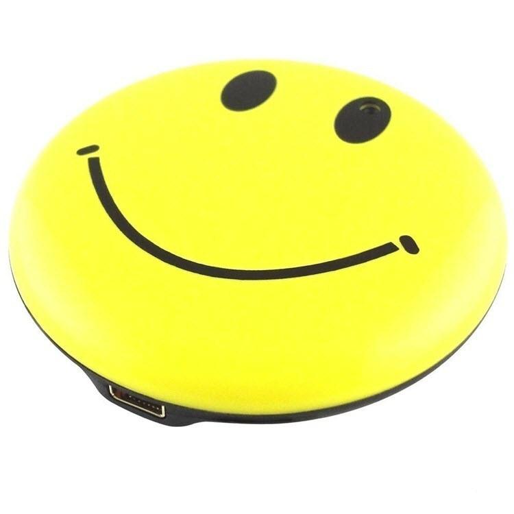 Yellow Color Smile Face Badge Hidden Camera - 5