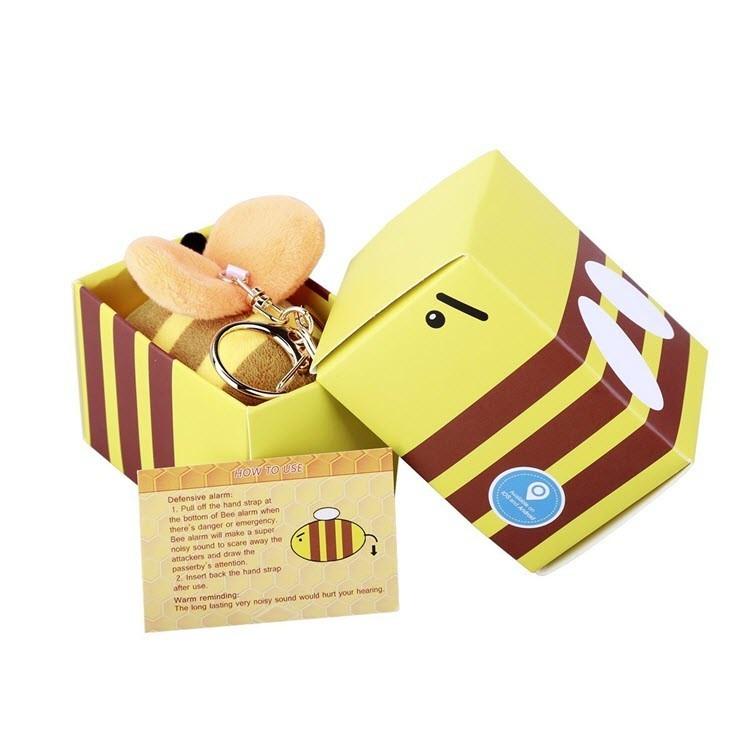 130 Db Personal alarm, Mini Bee SOS Panic alarms for Women, Kids, Elder - 8