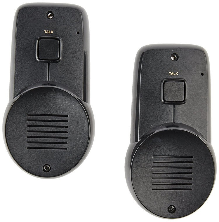 2 Wireless Indoor & Outdoor Intercom - Weather Resistant - 1