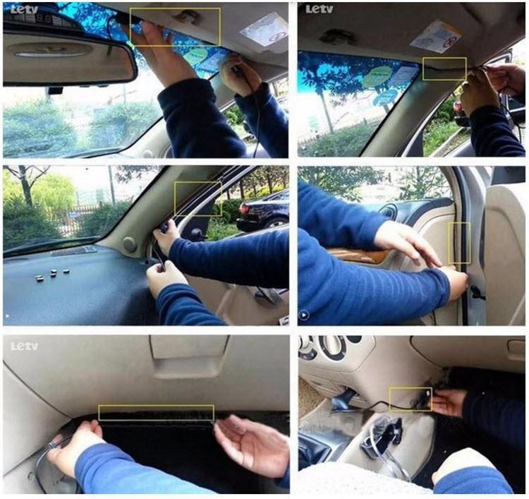 HD Mini Car recorder with Wide Angle + G-sensor - 13-16
